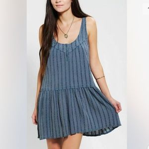Urban Outfitters Blue Mini Dress Size S